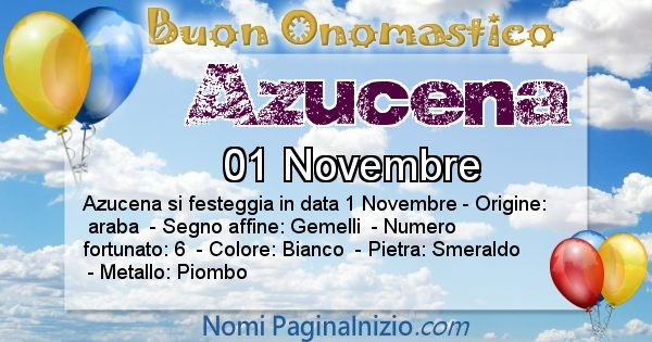 Nome Azucena