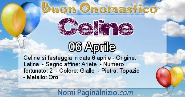 Nome Celine