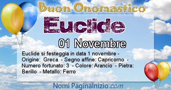 Nome Euclide