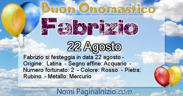 Nome Fabrizio