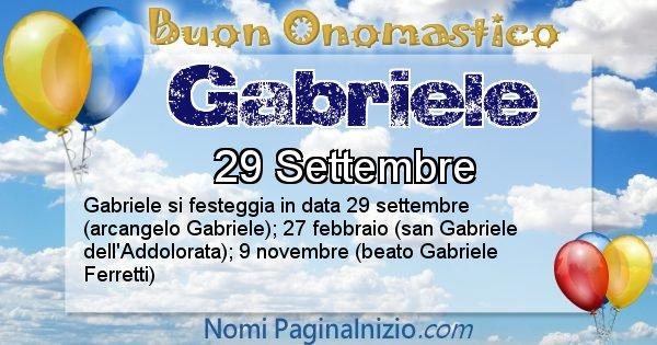 Nome Gabriele