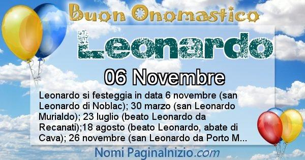 Nome Leonardo