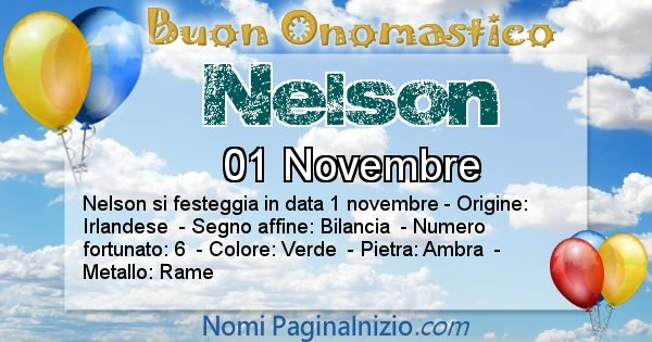 Nome Nelson