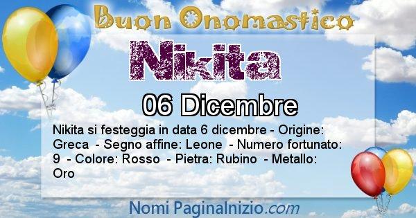 Nome Nikita