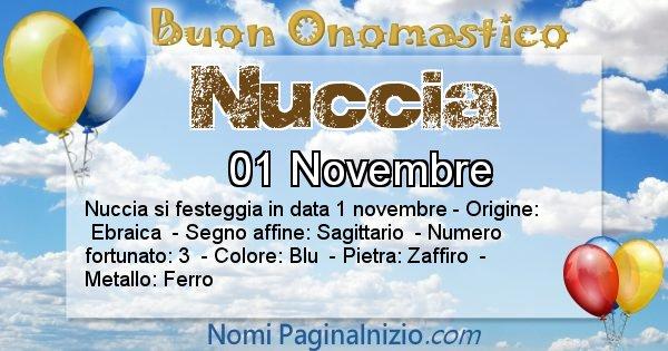Nome Nuccia