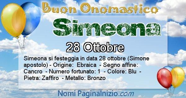Nome Simeona
