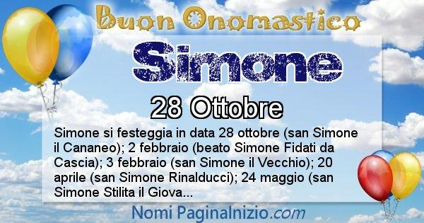 Nome Simone