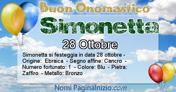 Nome Simonetta