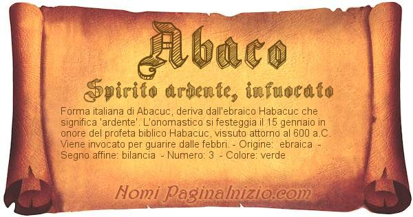 Nome Abaco