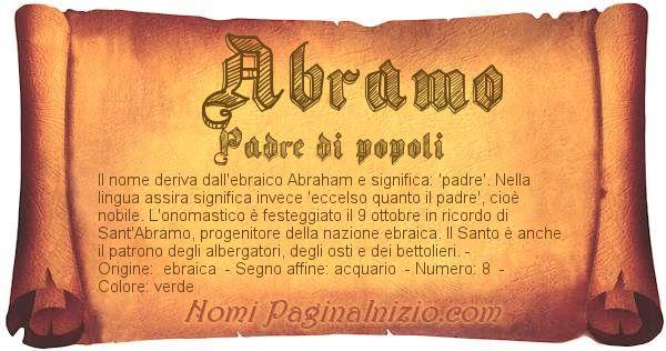 Nome Abramo