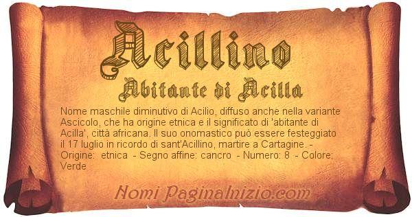Nome Acillino