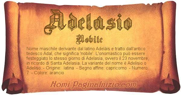 Nome Adelasio