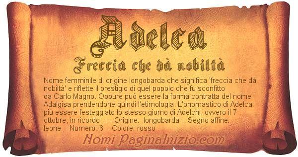 Nome Adelca