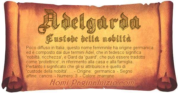 Nome Adelgarda