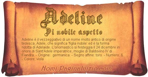 Nome Adeline