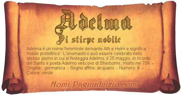 Nome Adelma