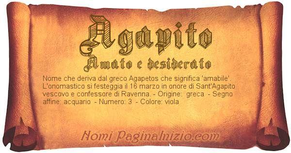 Nome Agapito