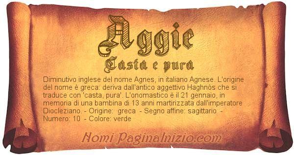 Nome Aggie