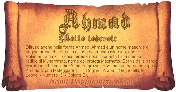 Nome Ahmad