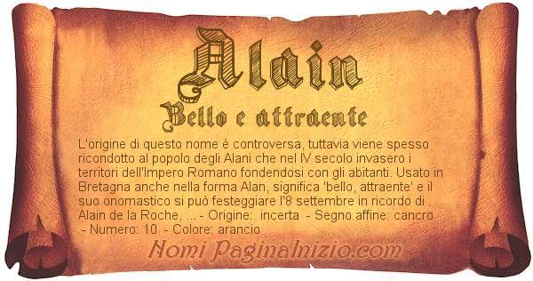 Nome Alain