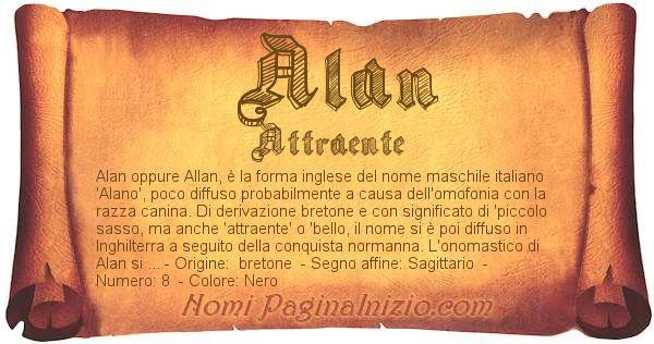 Nome Alan