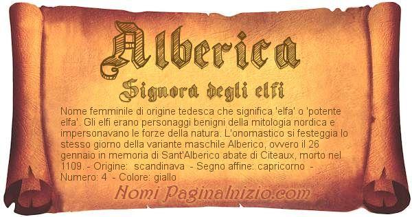 Nome Alberica