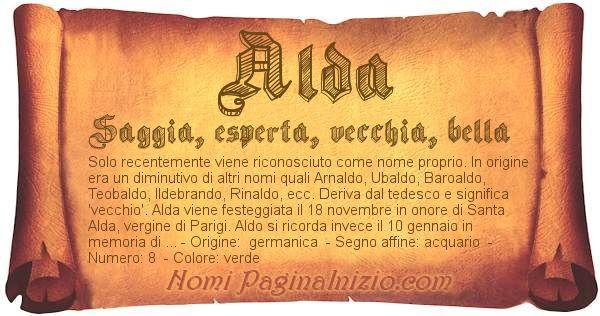 Nome Alda