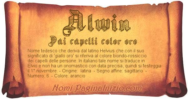 Nome Alwin