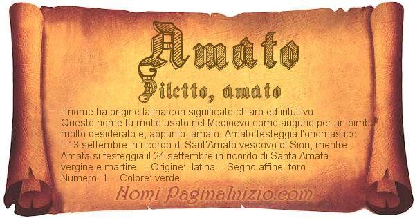 Nome Amato