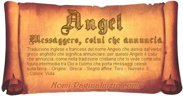 Nome Angel