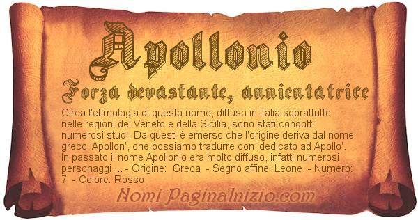 Nome Apollonio