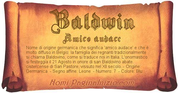Nome Baldwin