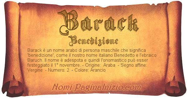 Nome Barack