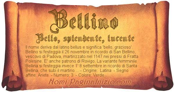 Nome Bellino