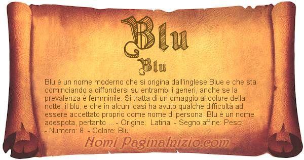 Nome Blu