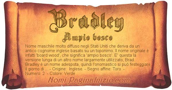 Nome Bradley