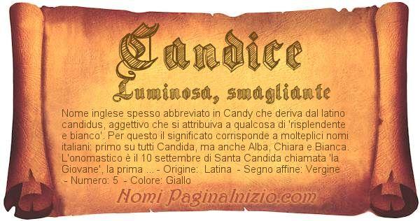 Nome Candice