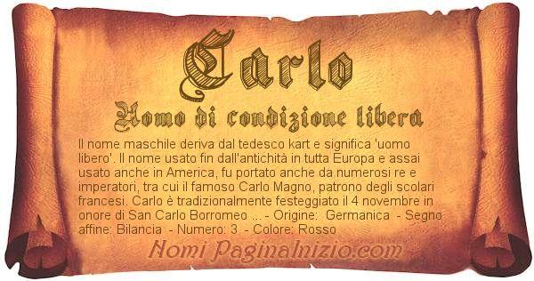 Nome Carlo