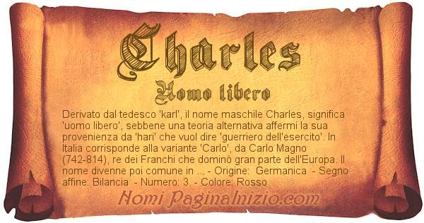 Nome Charles