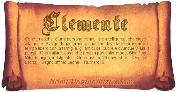 Nome Clemente