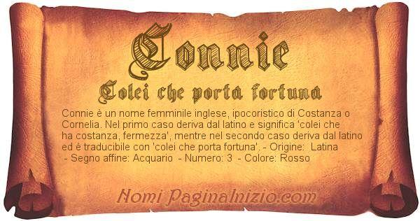 Nome Connie