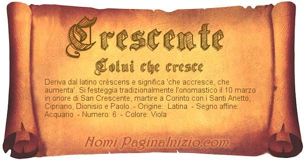 Nome Crescente