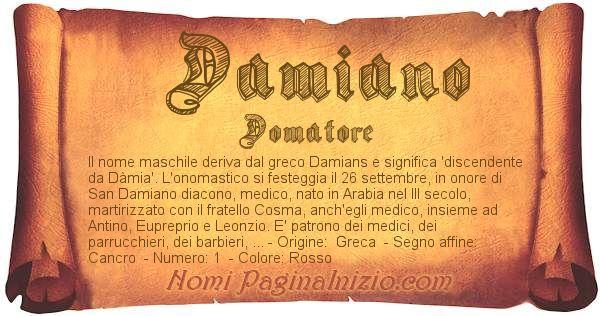Nome Damiano