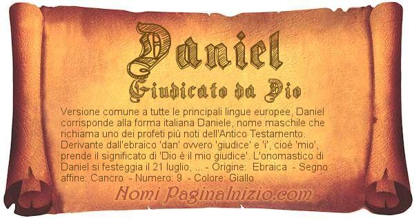 Nome Daniel