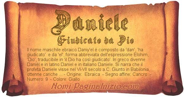 Nome Daniele
