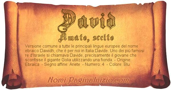 Nome David