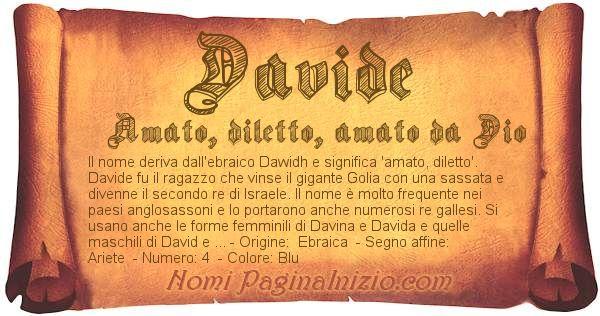 Nome Davide