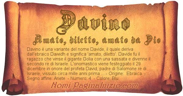 Nome Davino