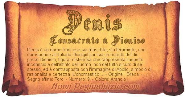 Nome Denis