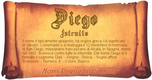 Nome Diego